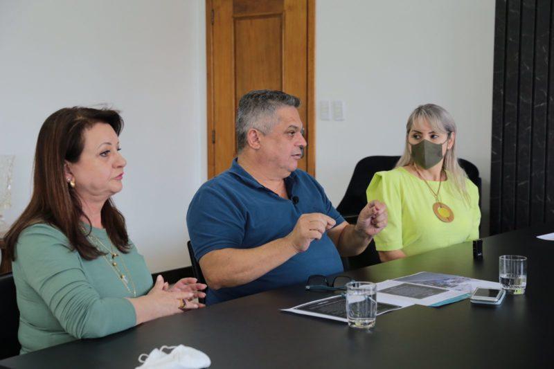 Prefeito esclareceu possíveis mudanças durante live na manhã desta quinta-feira (19). – Foto: Prefeitura de Chapecó/Divulgação/ND