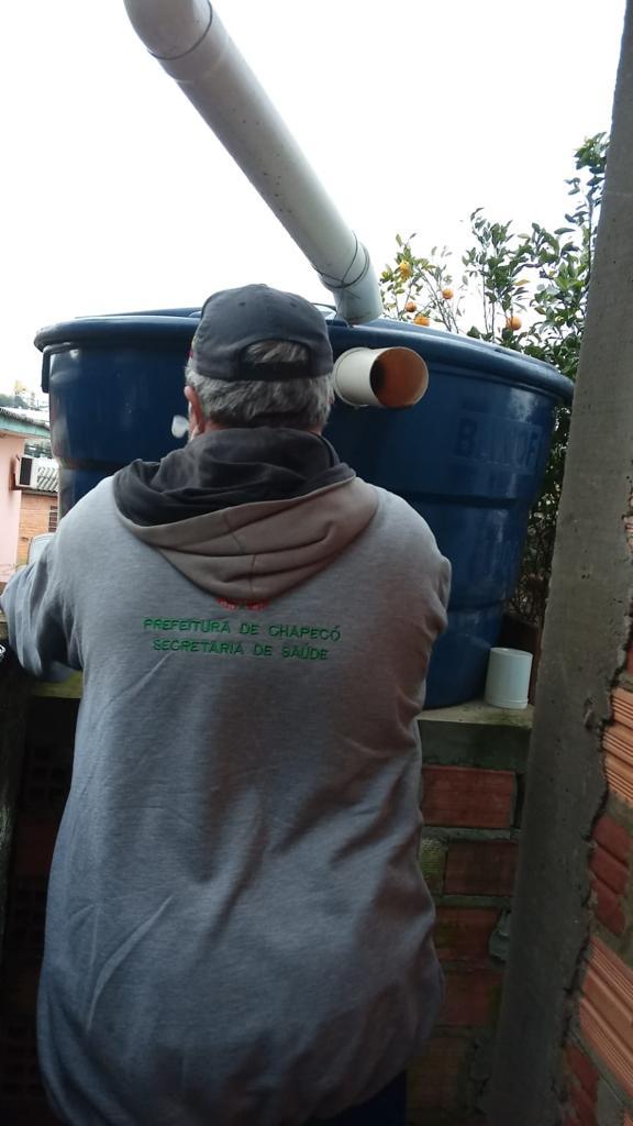 Los agentes realizaron más de 600 visitas.  Ayuntamiento de Chapeco / Divulgación / ND