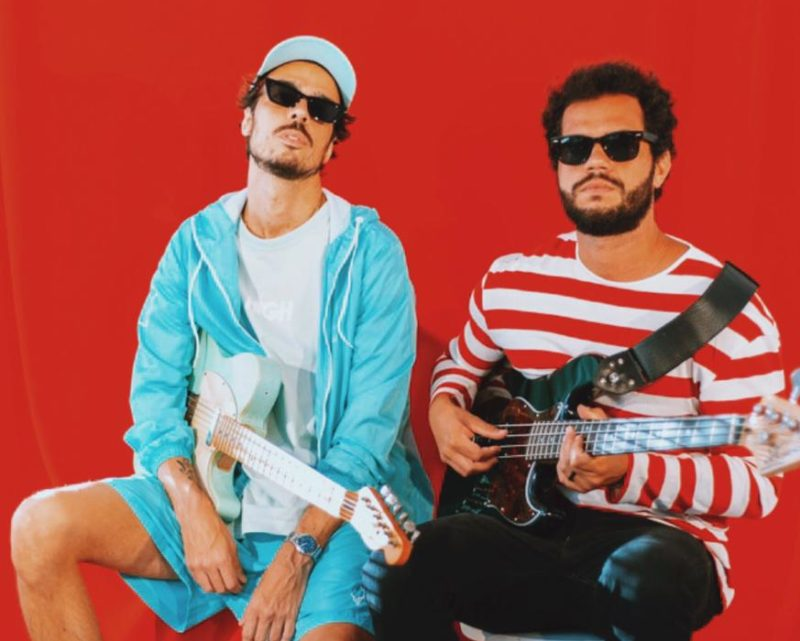 Laurinho Linhares e PH Collaço, o duo Reis do Nada. – Foto: Acervo Reis do Nada/ND