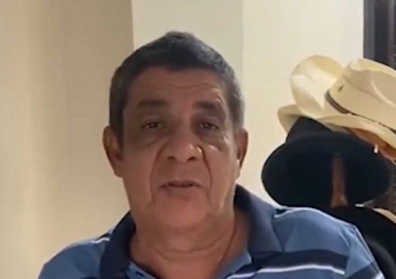 Zeca Pagodinho foi internado com Covid-19 no Rio de Janeiro no sábado (14) – Foto: Reprodução/ Instagram