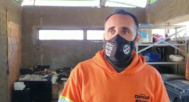 Jefferson Gonçalves explica o horário de a dinâmica de funcionamento dos ecopontos – Foto: Reprodução Vídeo Divulgação PMF / ND