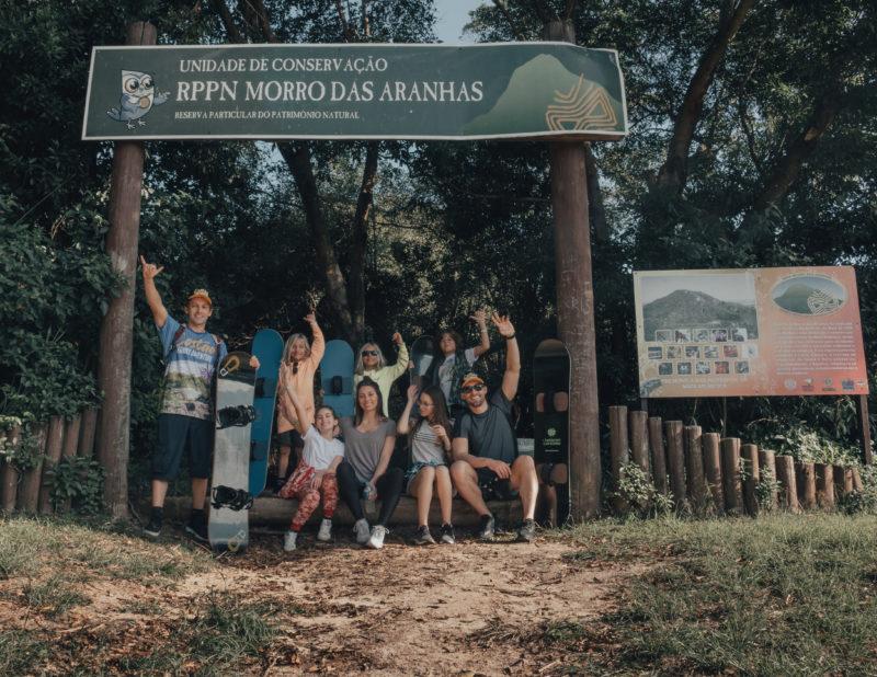 """<span class=""""s1""""><span class=""""Apple-converted-space""""></span></span>Cuidados com o ecossistema do Morro das Aranhas&#8211; Foto: Costão do Santinho/Divulgação"""