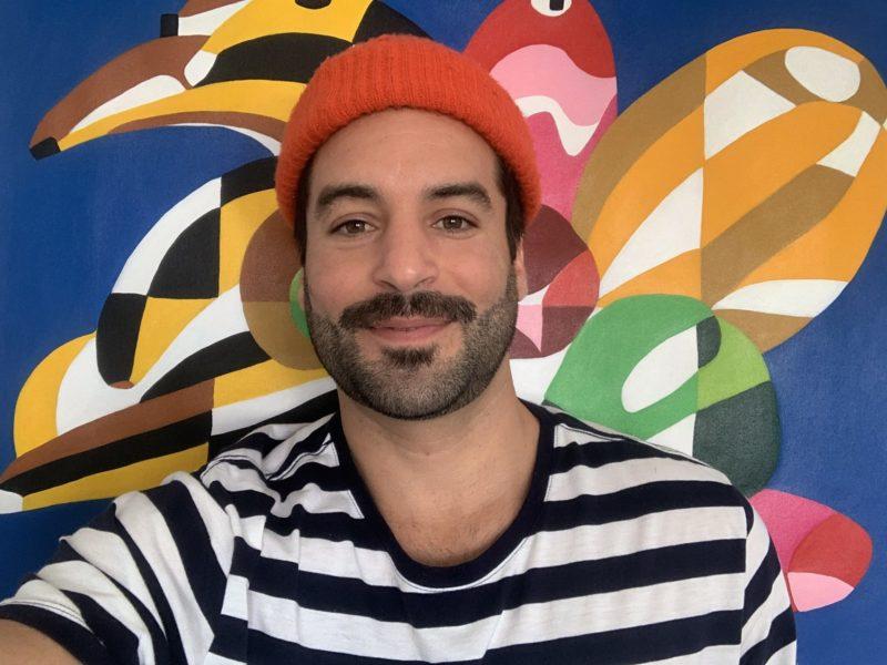 Artista plástico Thiago Thipan, niteroiense radicado em Florianópolis desde 2015 – Foto: Divulgação/ND