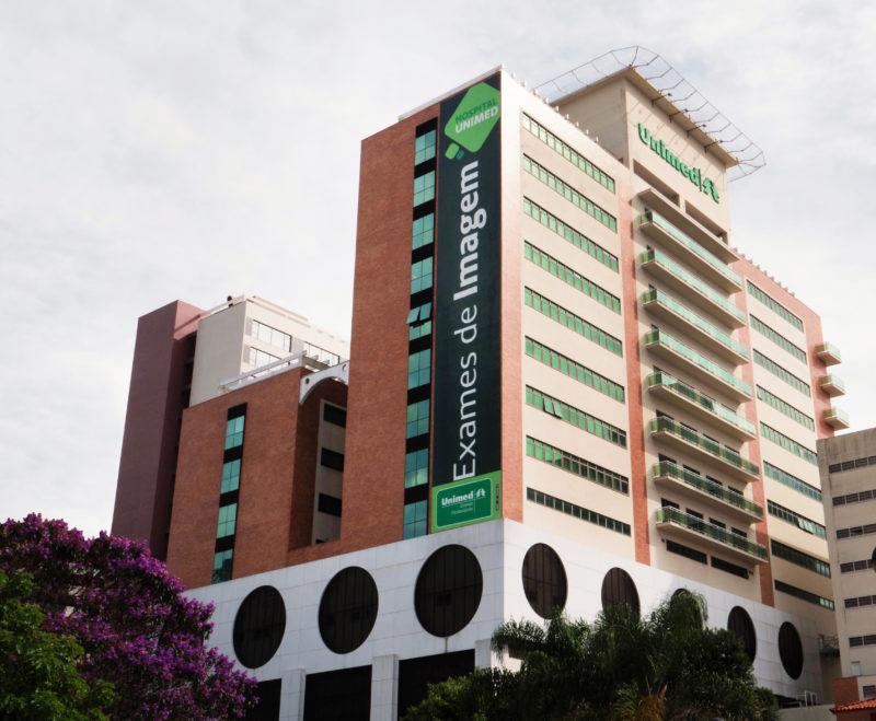 Hospital Unimed Grande Florianópolis conquistou prêmio Excelência da Saúde, um reconhecimento às instituições hospitalares com destaque no país em quesitos que englobam pesquisa de mercado e ações inovadoras ao longo dos últimos anos. – Foto: Divulgação/ND