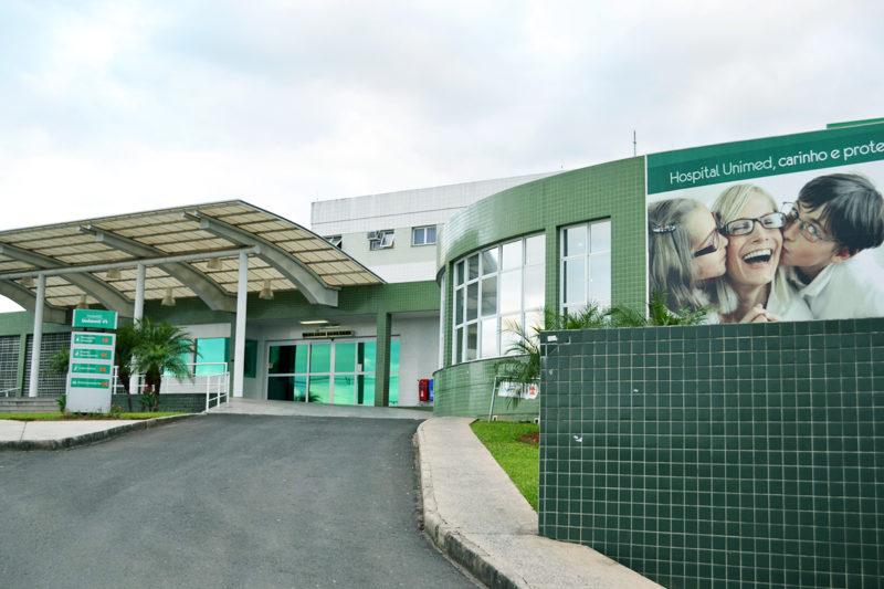A Unimed/Criciúma possui dois hospitais e um terceiro em construção. – Foto: Divulgação