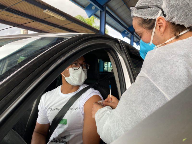 SC recebe mais de 223 mil vacinas contra Covid-19 nesta segunda-feira (15) – Foto: Ana Schoeller/PMF/Divulgação/ND