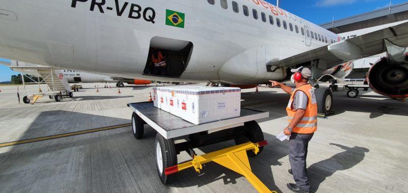 Santa Catarina receberá novos lotes da Atrazeneca – Foto: Dive/SC/Divulgação/ND