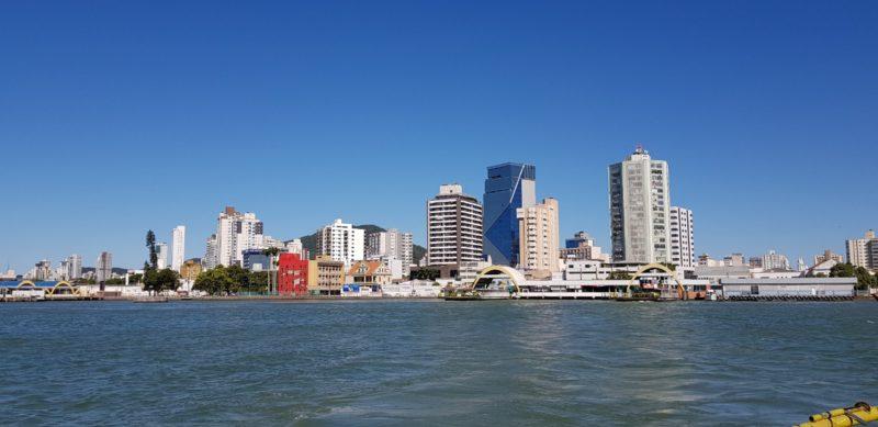Vista de Itajaí