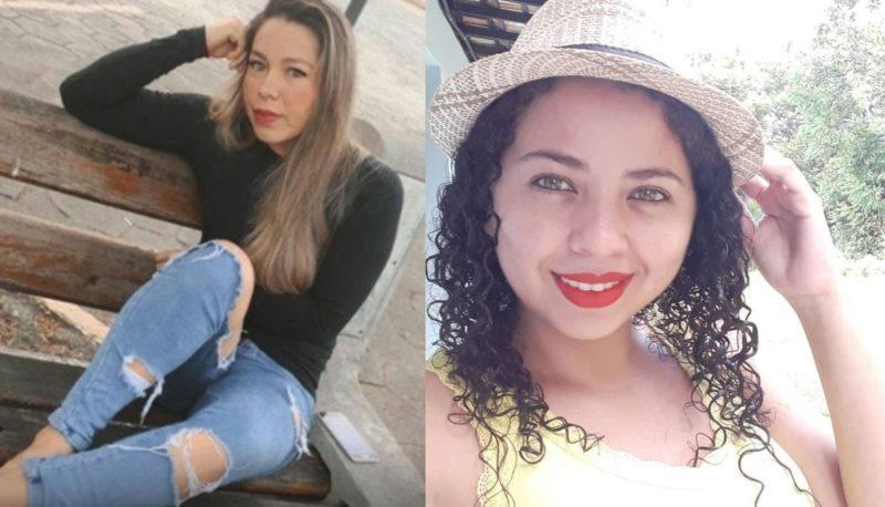 Tatiane Dias Lima Almeida, 34 anos, e Luciane Dias, 28 anos, morreram no grave acidente em Presidente Getúlio nesta sexta-feira (13) – Foto: Divulgação/Internet