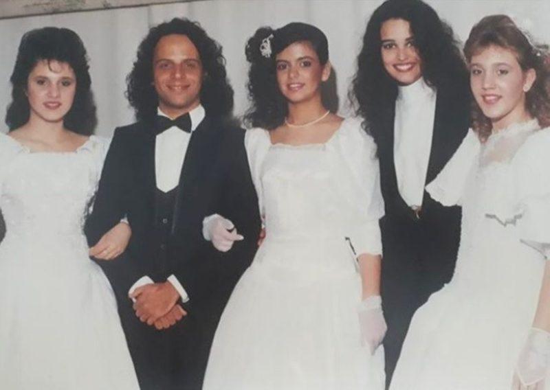 Baile Branco do Clube Doze de Agosto, em 1989 – Foto: Divulgação/ND