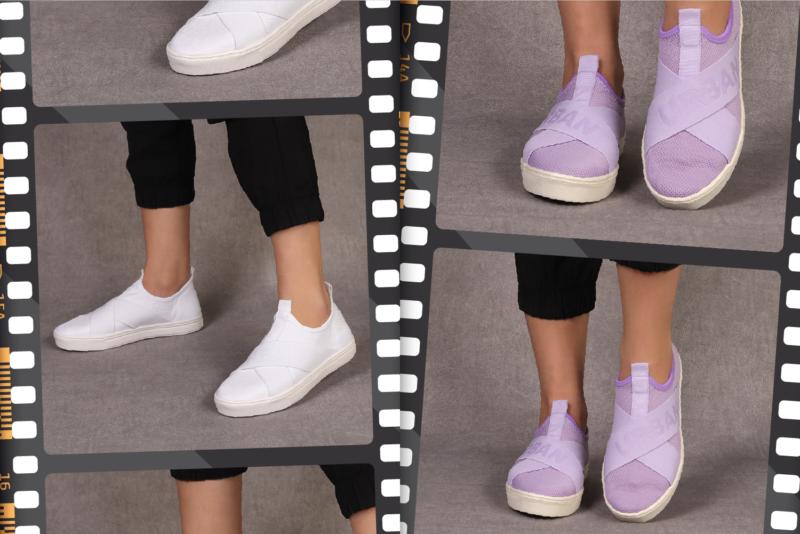 O modelo slip-on é versátil e combina com tudo – Foto: Divulgação/FIP a Feira da Moda