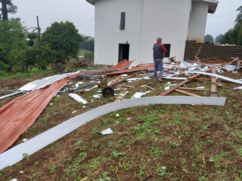 tornado passou pelo interior do município