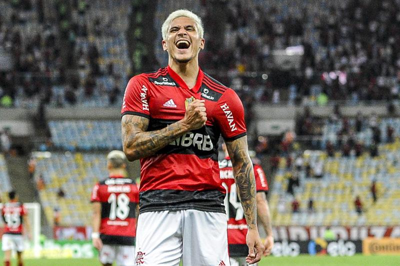 Pedro foi o autor dos dois gols da classificação rubro-negra na Copa do Brasil