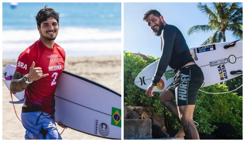 Dupla brasileira se enfrenta pelo título da WLS – Foto: Redes sociais/Reprodução/ND