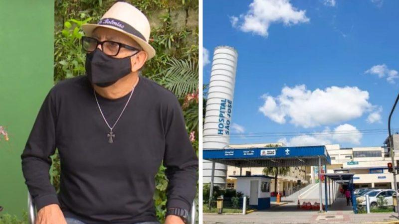 Carlos foi diagnosticado com câncer em maio de 2021