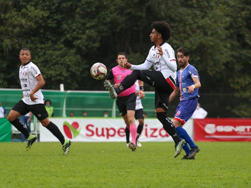 JEC estreou com derrota na Copa Santa Catarina e nova reclamação de erro da arbitragem – Foto: Vitor Forcellini/JEC/Divulgação/ND