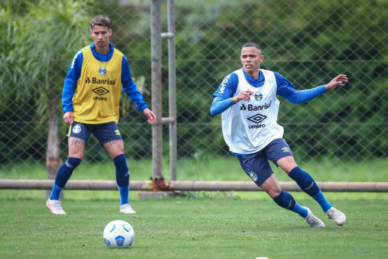 Vanderson deve ser titular do Tricolor no jogo de Curitiba – Foto: Lucas Uebel/Gremio FBPA