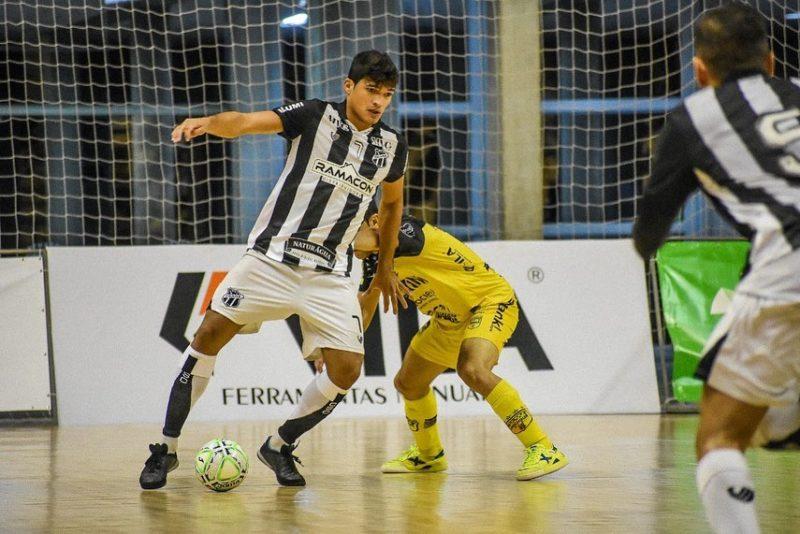 Ceará saiu perdendo, empatou, levou o jogo para a prorrogação e amassou o Aurinegro em plena Arena Jaraguá – Foto: Paulinho Sauer/Divulgação