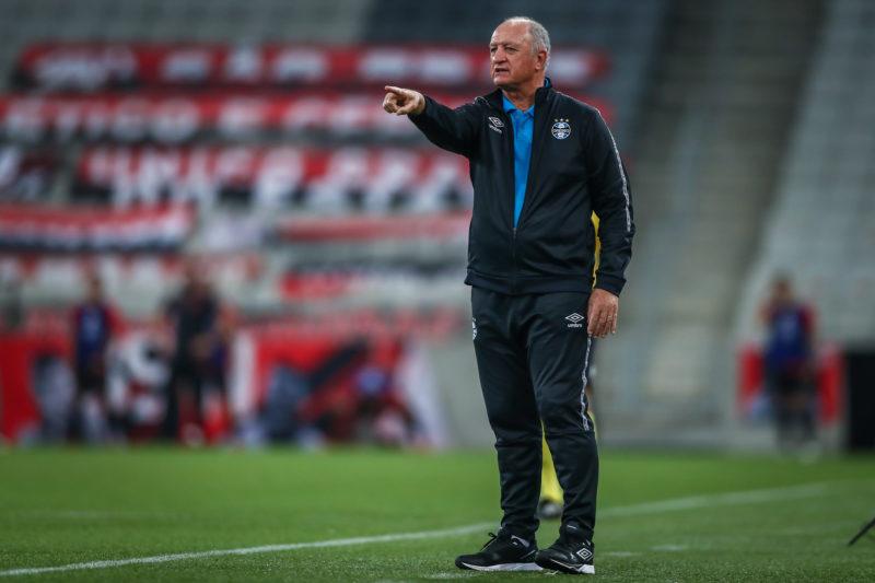 Para o treinador, os erros fizeram com que o time jogasse bem abaixo das últimas partidas - Foto: Lucas Uebel/Gremio FBPA