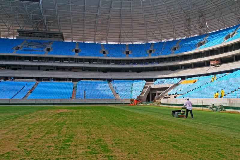 Volta do público no Campeonato Brasileiro foi liberada após reunião com a CBF - Foto: Lucas Uebel/Gremio FBPA
