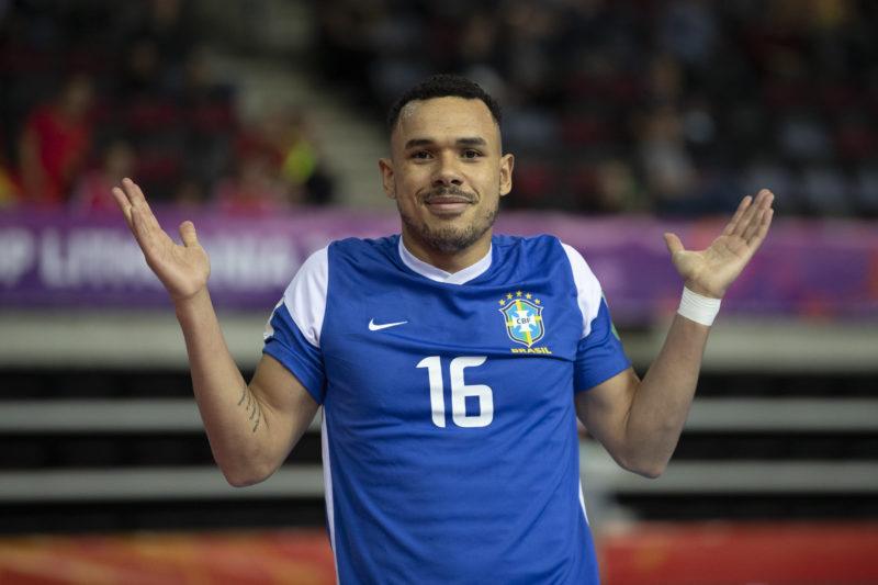 Dieguinho marcou duas vezes e Brasil atropelou Vietnã na estreia do Mundial – Foto: Thais Magalhães/CBF