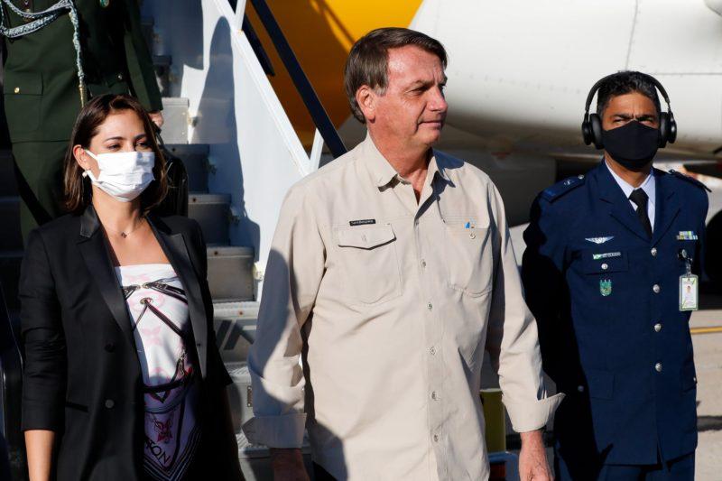 Diplomata que preparou viagem do presidente testou positivo para a Covid-19 – Foto: Alan Santos/PR/ND