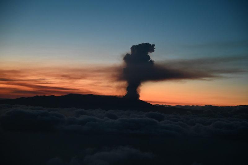 Vulcão nas Ilhas Canárias entrou em erupção e ligou alerta para possível tsunami no litoral brasileiro – Foto: Fotos Públicas/ND