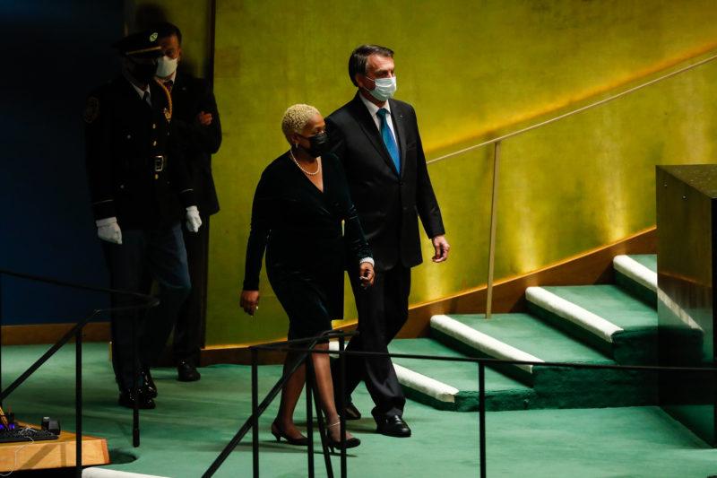 Anvisa recomenda isolamento para integrantes da comitiva presidencial – Foto: Alan Santos/PR/ND
