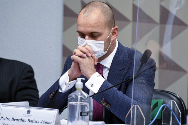 Diretor-executivo foi ouvido nesta quarta-feira – Foto: Agência Senado/Divulgação/ND