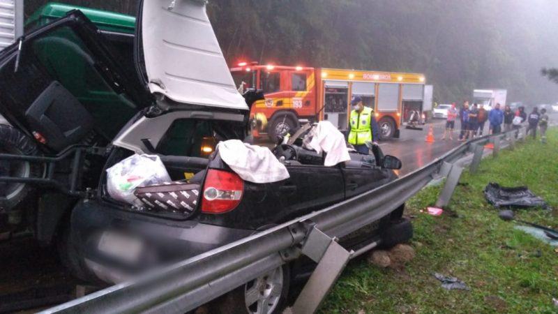 Duas mulheres foram socorridas e encaminhadas ao hospital – Foto: 9BBM/Divulgação
