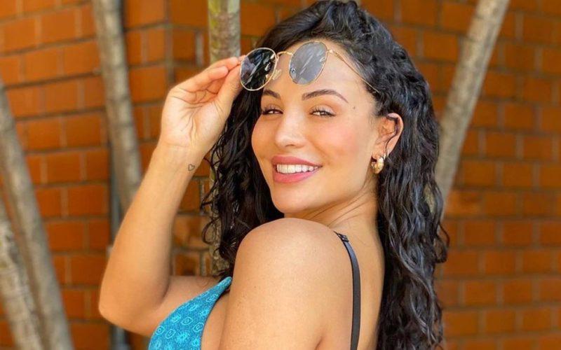 Aline Mineiro é ex-panicat – Foto: Acervo pessoal