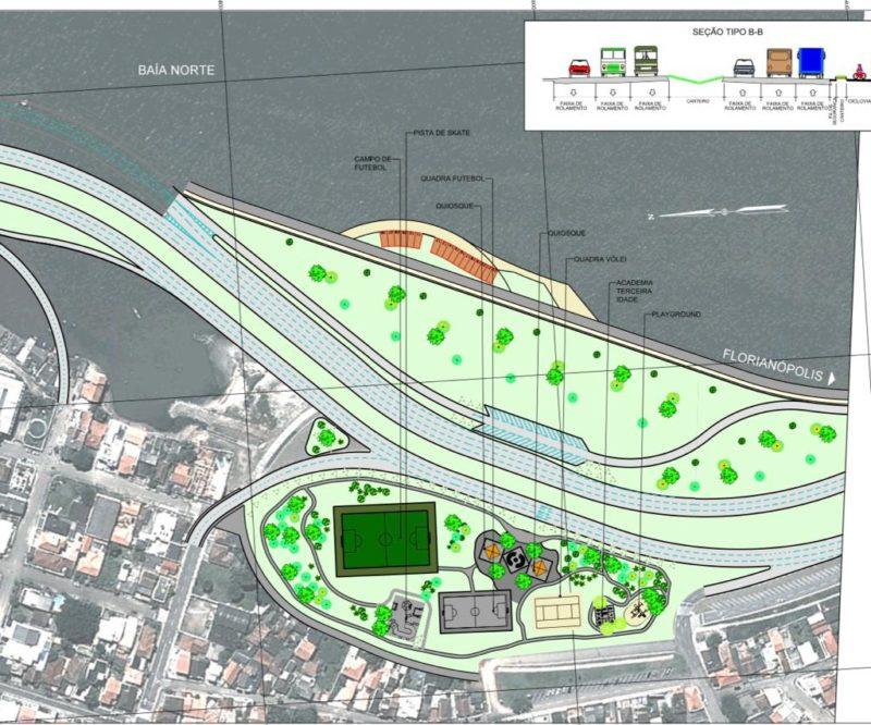 Expectativa é lançar o edital de construção entre abril e maio de 2022 – Foto: Beira-mar Continental 2