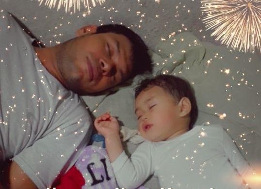 Ismael Duarte com o filho Brayan – Foto: Arquivo pessoal