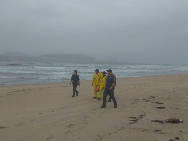 Bombeiros fizeram buscas pelo jovem desde domingo – Foto: CBM/Divulgação