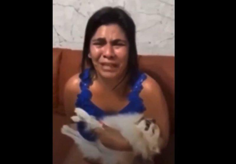 Mulher recebeu o cachorro morto após levá-lo para tomar banho em pet shop de Brasília – Foto: Reprodução/Redes Sociais