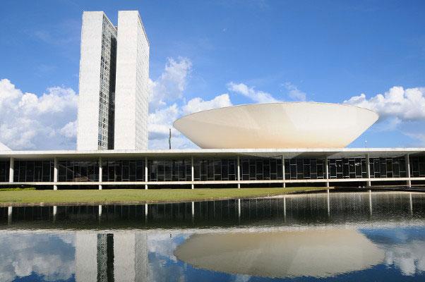 Câmara dos Deputados; projeto deve ir até o saguão ao lado, do Senado, antes de ir a sanção presidencial – Foto: Câmara dos Deputados/Divulgação/ND