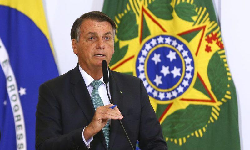 Presidente Jair Bolsonaro testou negativo para a Covid-19 neste domingo (26) – Foto: Marcelo Camargo/Agência Brasil/ND