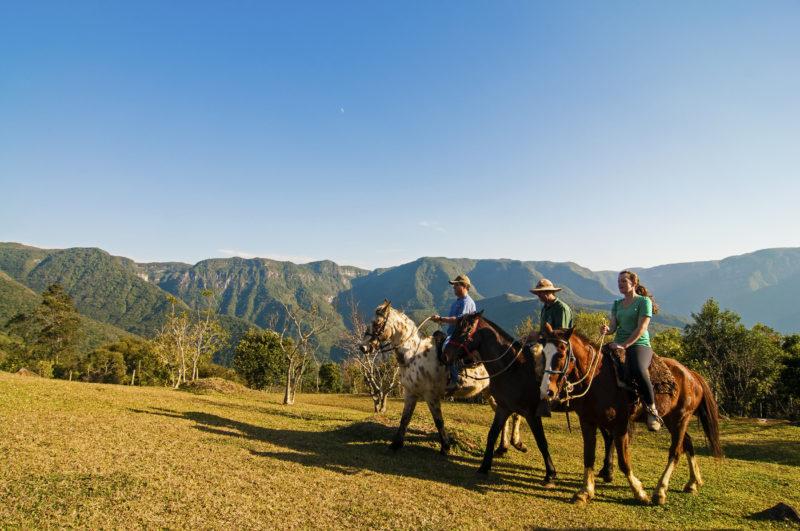 Le valli della regione meridionale sono le attrazioni per godersi la fine dell'inverno in SC & # 8211;  Foto: (Marquito/Santor)