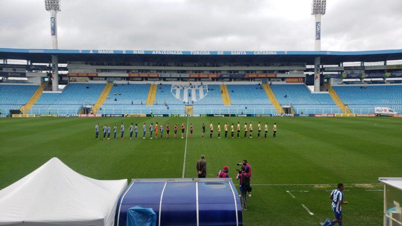 Avaí perde na estreia da Copa SC. – Foto: Cael Sobral/Avaí