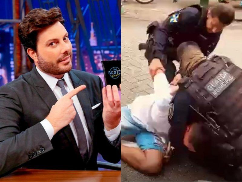 Danilo Gentili comentou ação da Guarda Municipal de Itajaí – Foto: Reprodução