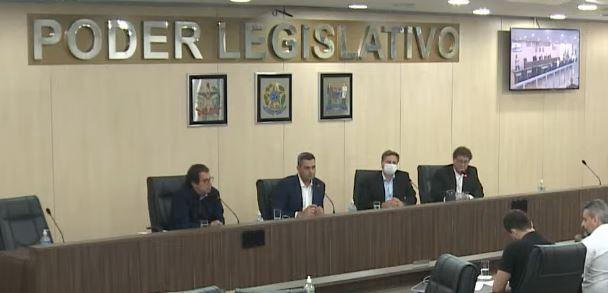Reunião da CPI ocorreu nesta quarta-feira (15) – Foto: divulgação/TVL