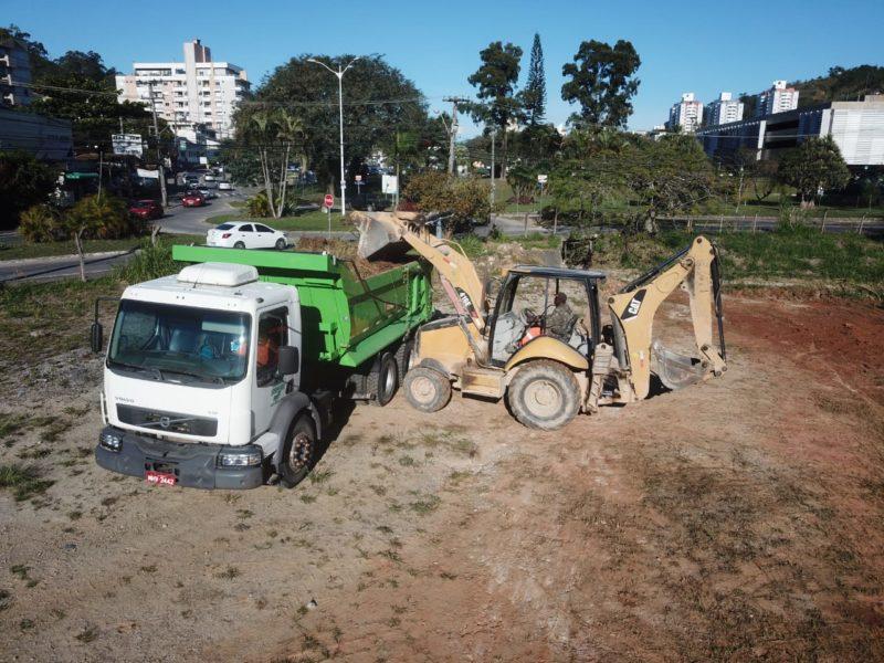 Obras de revitalização da rua Deputado Antônio Edu Vieira foram retomadas em julho deste ano – Foto: Leonardo Sousa/PMF/Divulgação/ND