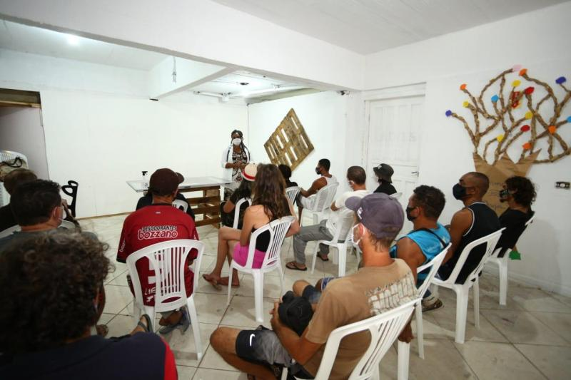 Desde o dia 28 de junho a Prefeitura de Florianópolis abriu uma turma da EJA na Passarela da Cidadania – Foto: PMF/Divulgação/ND