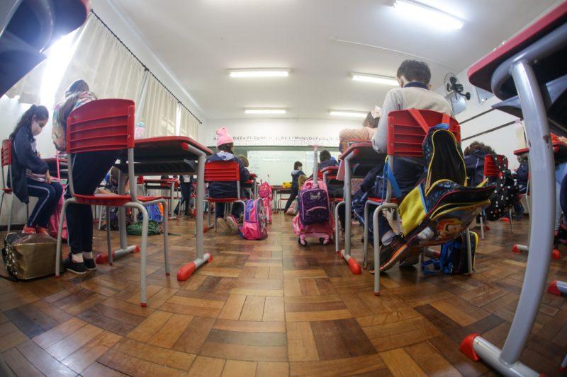 Sala de aula em Joinville
