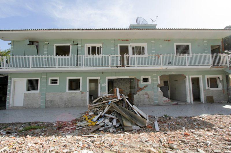 Explosão em Jurerê completa quatro meses e imóvel não será reativado