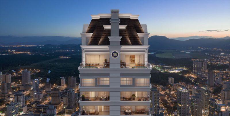 Com o L'Atelier Concept Homes Itapema passa a integrar a lista de cidades com prédios mais altos do Brasil – Foto: Embraed/Divulgação