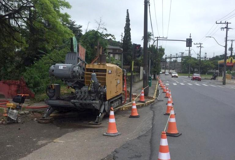 Obras na rua Blumenau vão interromper abastecimento de água em Joinville – Foto: Prefeitura de Joinville/Divulgação