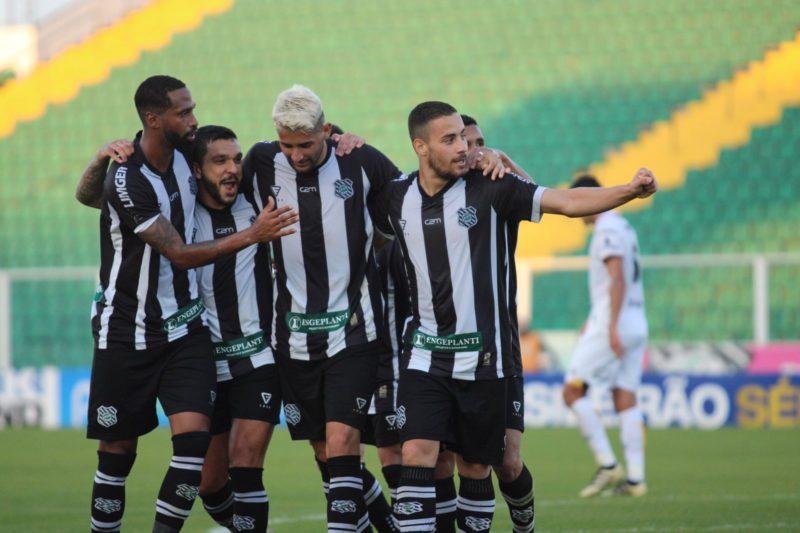 Figueirense venceu o Criciúma e se despede da Série C- Foto: Patrick Floriani/FFC/Divulgação/ND