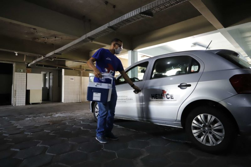 'U negativo': motorista de hemocentro possui tipo sanguíneo extremamente raro – Foto: Governo do Ceará/ND