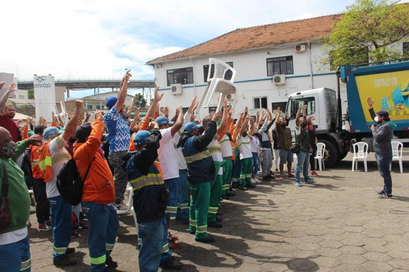 Trabalhadores se reunirão na manhã desta sexta-feira (24) – Foto: Sintrasem/Reprodução/ND
